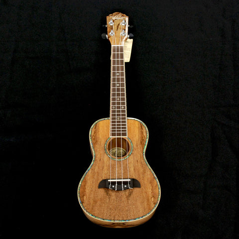 Shop online for Oscar Schmidt OU7 Concert Ukulele Spalted Mango today.  Now available for purchase from Midlothian Music of Orland Park, Illinois, USA