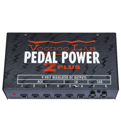 Shop online for Voodoo Labs Pedal Power 2 Plus Isolated Power Supply today.  Now available for purchase from Midlothian Music of Orland Park, Illinois, USA