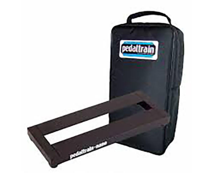 Shop online for Pedaltrain NANO Pedal Board w/Soft Case PT-NANO-SC today.  Now available for purchase from Midlothian Music of Orland Park, Illinois, USA
