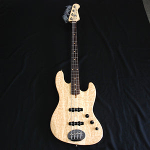 Shop online for Lakland USA Classic Series 44-60 Birdseye Maple 4 String Jazz Bass Guitar [JO842] today.  Now available for purchase from Midlothian Music of Orland Park, Illinois, USA