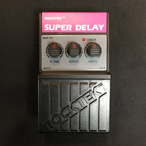 Shop online for Rocktek ADR-01 Super Delay Effects Pedal NOS today. Now available for purchase from Midlothian Music of Orland Park, Illinois, USA