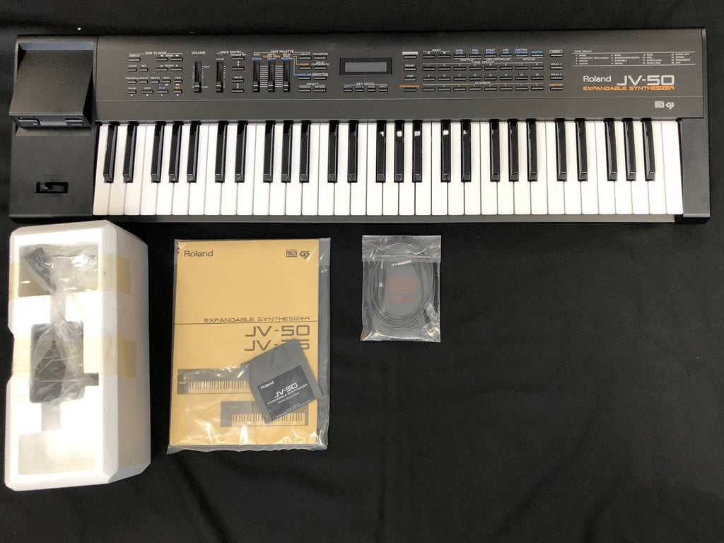 Roland JV-50 61 Key Expandable Synthesizer NOS