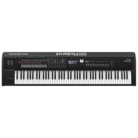 Shop online for Roland RD2000 88-Key Digital Stage Piano today.  Now available for purchase from Midlothian Music of Orland Park, Illinois, USA