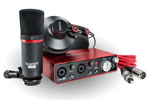 Shop online for Focusrite Scarlett 2i2 Studio Audio Interface & Recording Bundle Gen2 today.  Now available for purchase from Midlothian Music of Orland Park, Illinois, USA