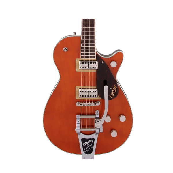 Gretsch G6128T Players Edition Jet FT Roundup Orange with Bigsby Electric Guitar