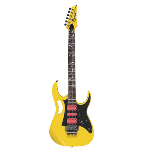 Ibanez JEMJRSPYE Steve Vai Signature Electric Guitar Yellow