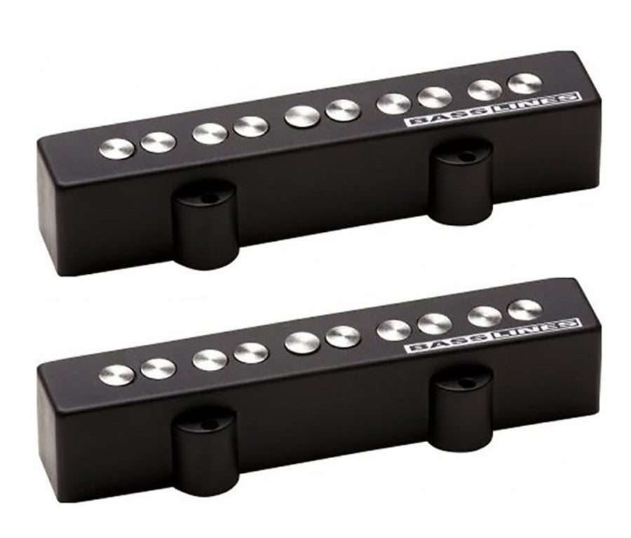 Shop online for Seymour Duncan SJ5-3s Quarter Pound 5 String Jazz Bass Pickup Set today.  Now available for purchase from Midlothian Music of Orland Park, Illinois, USA