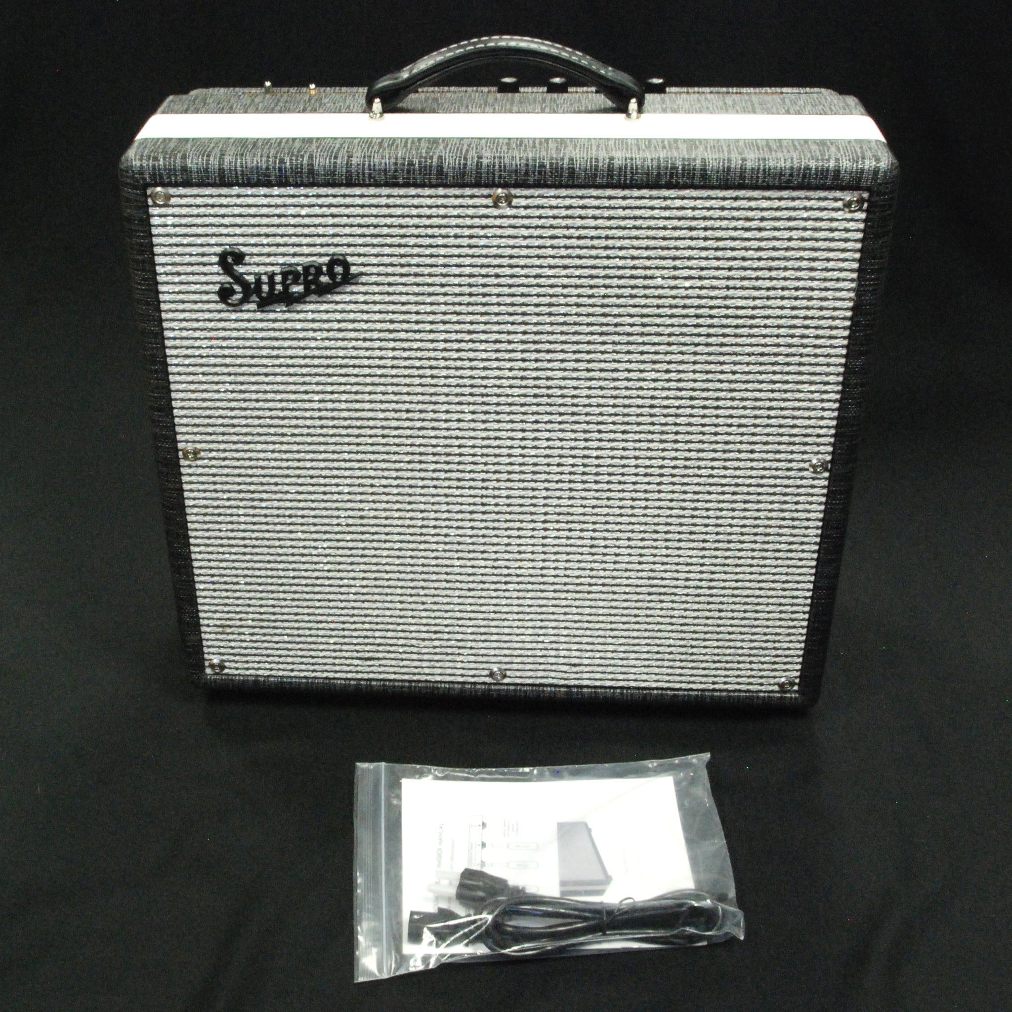 Shop online for Supro 1695T Black Magick 1X12 Guitar Combo Amplifier today.  Now available for purchase from Midlothian Music of Orland Park, Illinois, USA