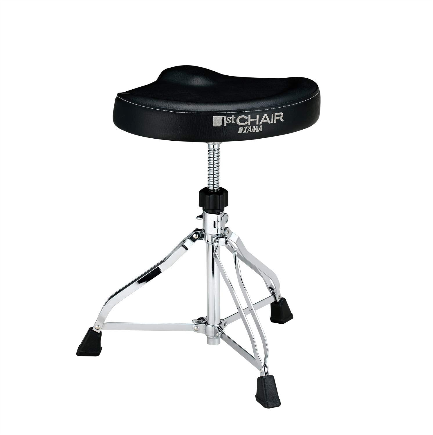 Shop online for Tama HT250 1st Chair Saddle Style Drum Throne today. Now available for purchase from Midlothian Music of Orland Park, Illinois, USA