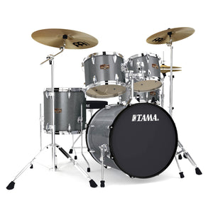 Shop online for Tama IP52KCGXS 5 Piece Imperialstar Drum Kit Galaxy Sparkle w/Cymbals today.  Now available for purchase from Midlothian Music of Orland Park, Illinois, USA