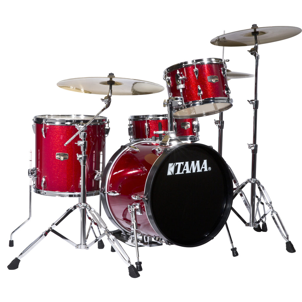 Tama IP42GCCPM 4-pc Imperialstar Drum Kit Candy Apple Mist w/Cymbals