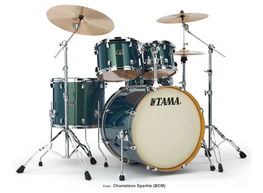 Tama VK52KBCM Silverstar 5-pc Birch Drum Kit w/Hardware Chameleon Sparkle