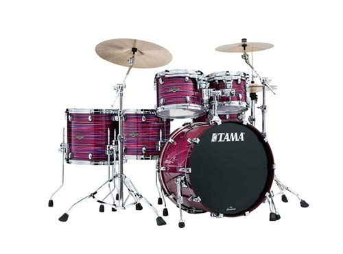 Tama Starclassic Walnut/Birch Lacquer 5-piece Shell Pack W/ Bass Drum Tom Mount- Phantasm Oyster
