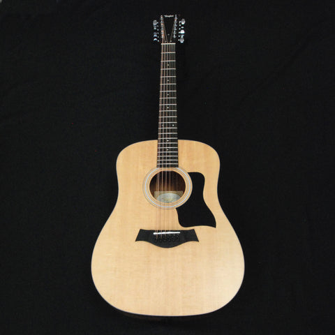 Shop online for Taylor 150e 12-string Dreadnought Acoustic/Electric Guitar Natural - Walnut [F100100011005151000] today.  Now available for purchase from Midlothian Music of Orland Park, Illinois, USA