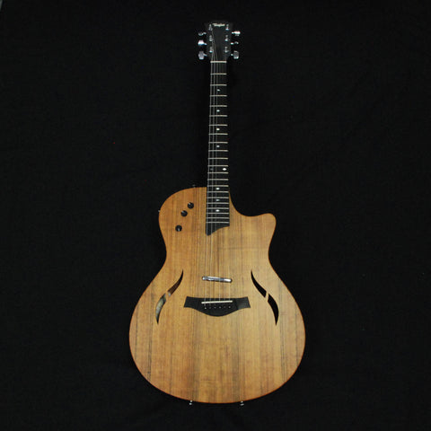 Shop online for Taylor T5X Classic Acoustic/Electric Guitar Satin Ovangkol today.  Now available for purchase from Midlothian Music of Orland Park, Illinois, USA