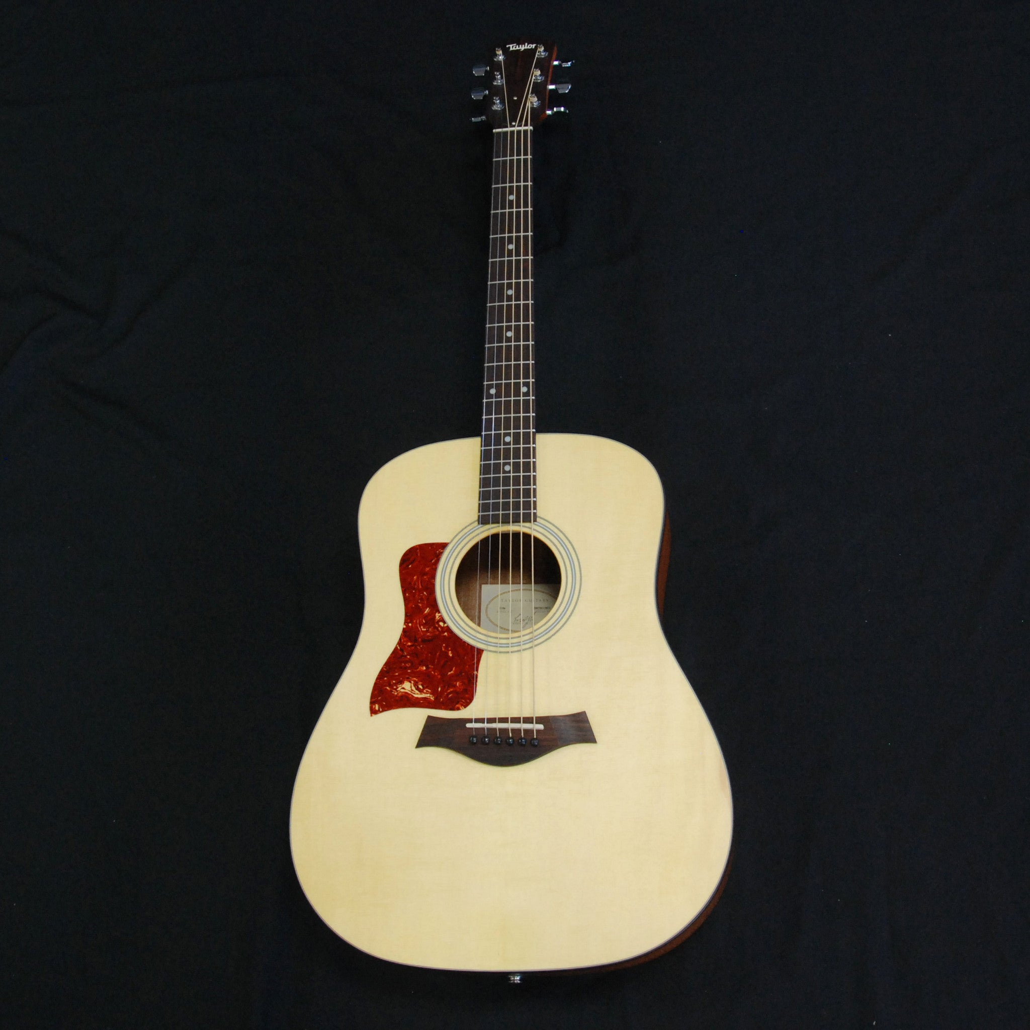 Shop online for Taylor 110e Left Hand Dreadnought Acoustic/Electric Guitar Natural today.  Now available for purchase from Midlothian Music of Orland Park, Illinois, USA
