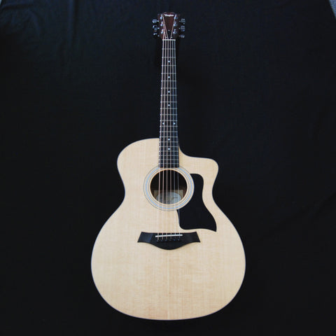 Shop online for Taylor 114ce Cutaway Grand Auditorium Acoustic/Electric Guitar today.  Now available for purchase from Midlothian Music of Orland Park, Illinois, USA