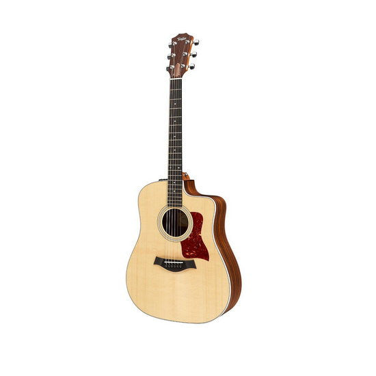 Taylor 210ce DLX Deluxe Dreadnought Cutaway Acoustic/Electric Guitar Natural
