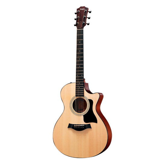 Taylor 312 Grand Concert Solid Wood Acoustic Guitar Natural