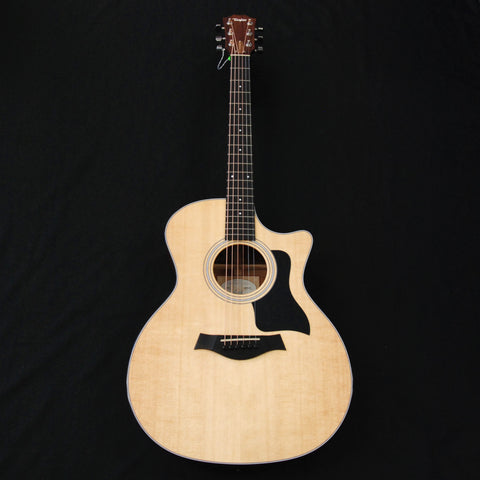 Taylor 314ce Grand Auditorium Cutaway Solid Wood Acoustic/Electric Guitar Natural