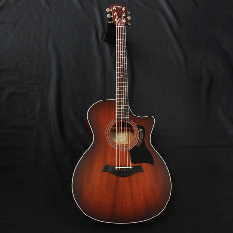 Shop online for Taylor 324CE Acoustic/Electric Guitar Grand Auditorium Shaded Edgeburst today.  Now available for purchase from Midlothian Music of Orland Park, Illinois, USA