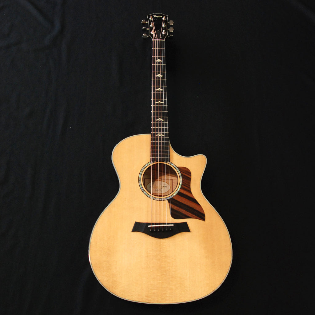 Taylor 614ce Grand Auditorium Cutaway Acoustic/Electric Guitar Natural