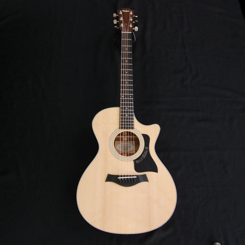 Shop online for Taylor 312ce Grand Concert Acoustic/Electric Guitar [A300001111000032000] today.  Now available for purchase from Midlothian Music of Orland Park, Illinois, USA