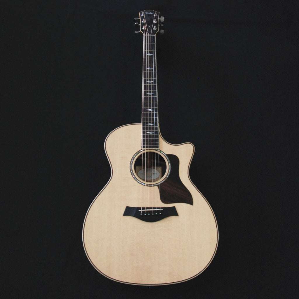 Taylor 814ce Grand Auditorium Cutaway Solid Wood Acoustic/Electric Guitar Natural