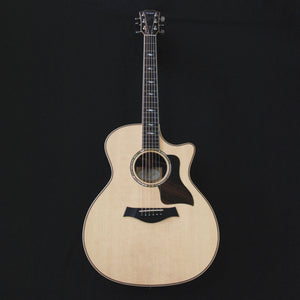 Shop online for Taylor 814ce Grand Auditorium Cutaway Solid Wood Acoustic/Electric Guitar Natural today.  Now available for purchase from Midlothian Music of Orland Park, Illinois, USA