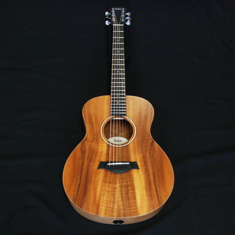Shop online for Taylor GS Mini-e Koa Acoustic/Electric Guitar 6331 today. Now available for purchase from Midlothian Music of Orland Park, Illinois, USA