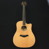Taylor W10CE Acoustic/Electric Guitar Walnut - Spruce Solid Wood Clearance