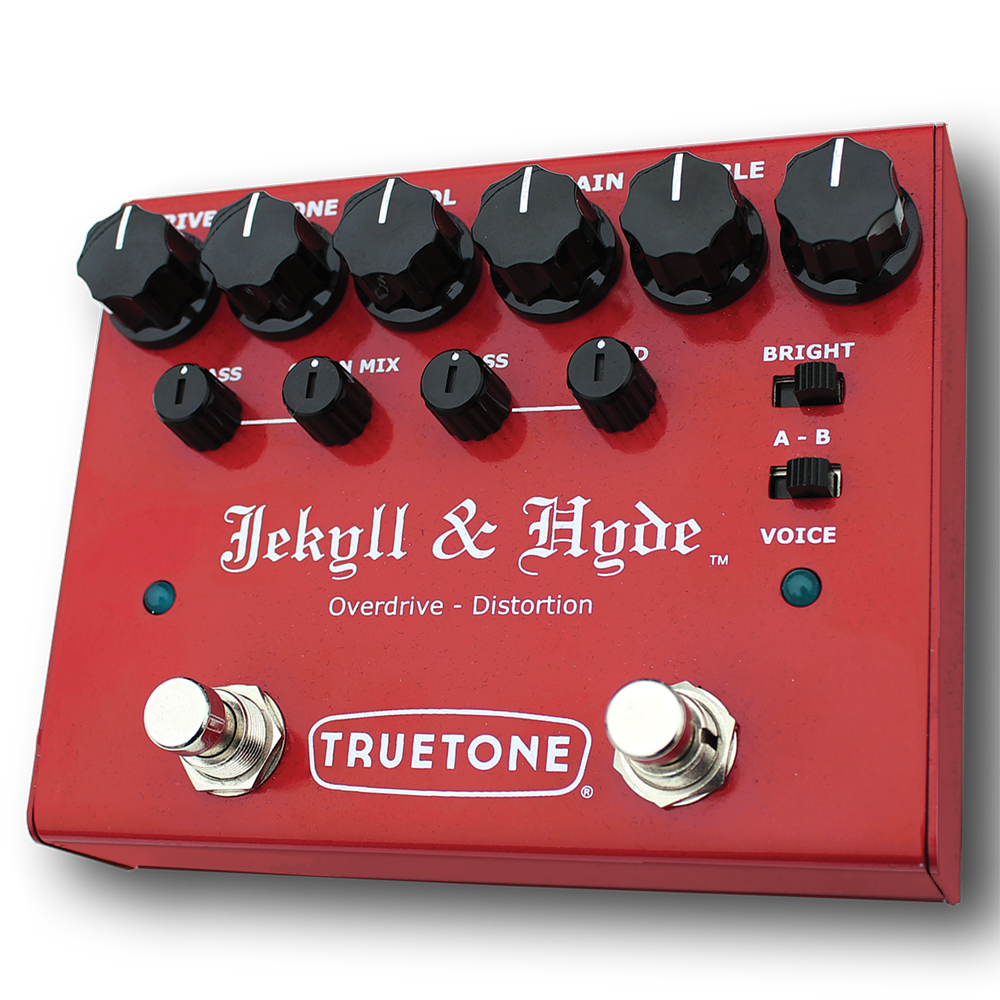 Truetone V3 Jekyll & Hyde Overdrive & Distortion Twin Guitar Effects Pedal
