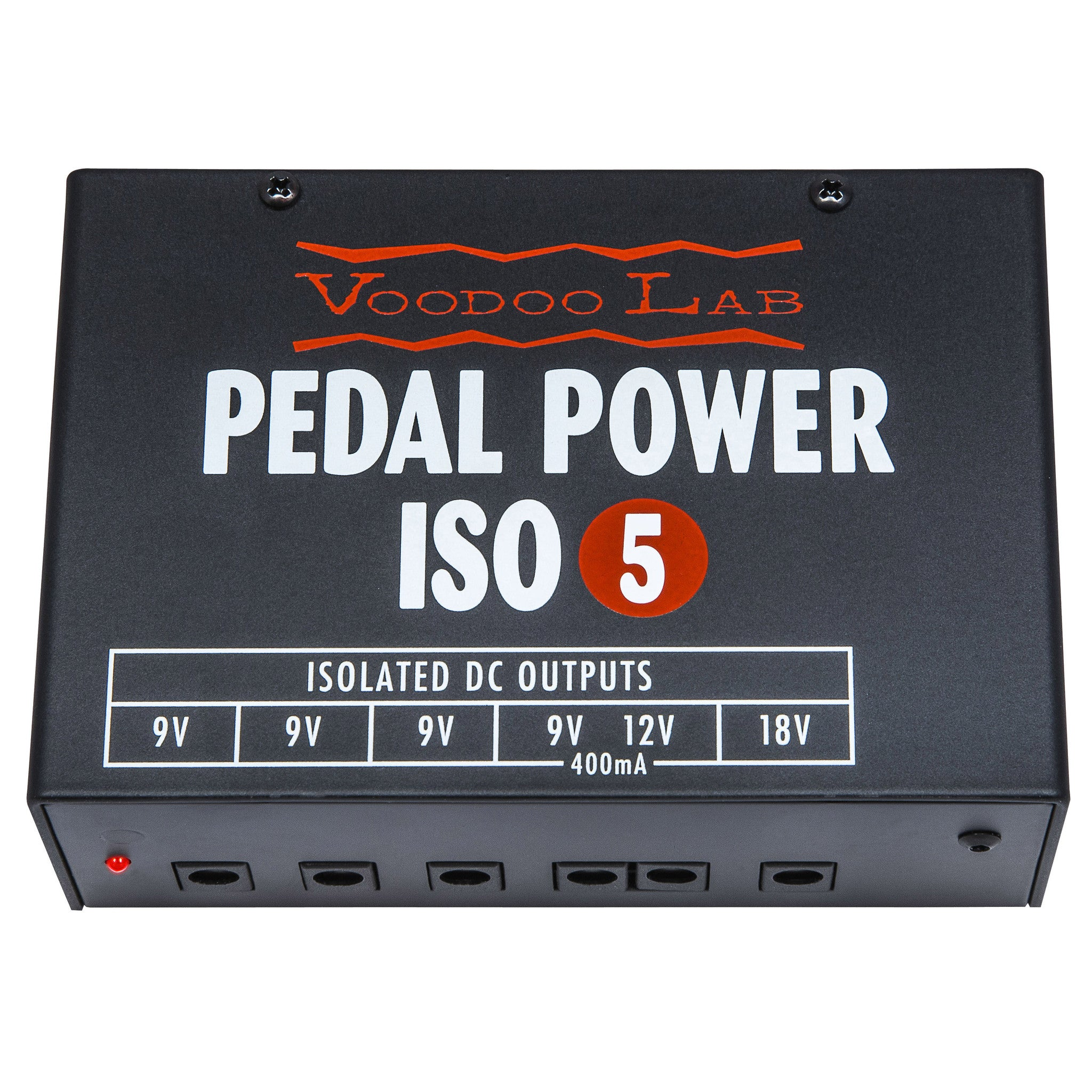 Shop online for Voodoo Labs Pedal Power ISO5 today.  Now available for purchase from Midlothian Music of Orland Park, Illinois, USA