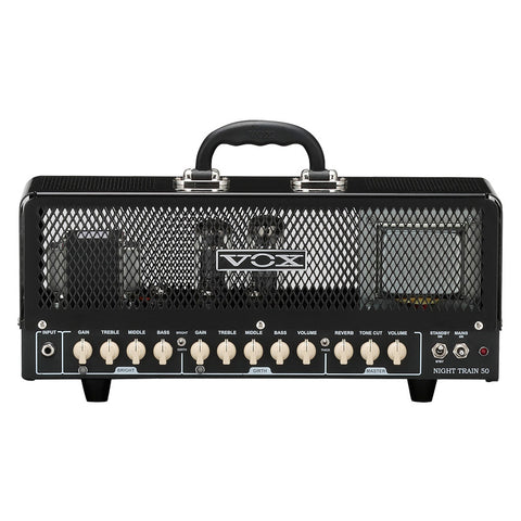 Shop online for Vox NT50HG2 Night Train G2 50 watt All Tube Head today. Now available for purchase from Midlothian Music of Orland Park, Illinois, USA