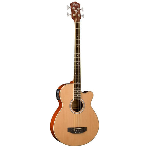 Shop online for Washburn AB5K 4 String Acoustic Bass Guitar today. Now available for purchase from Midlothian Music of Orland Park, Illinois, USA