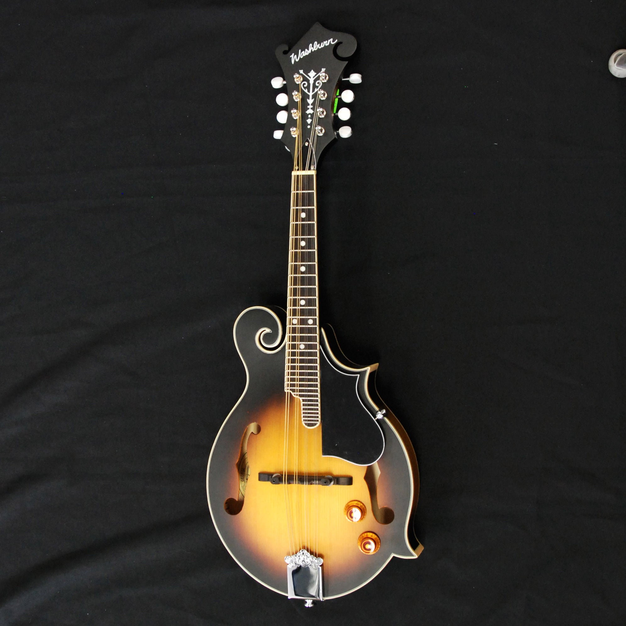 Shop online for Washburn M3EK Tobacco SB 8-String F-Style Mandolin Pack today.  Now available for purchase from Midlothian Music of Orland Park, Illinois, USA