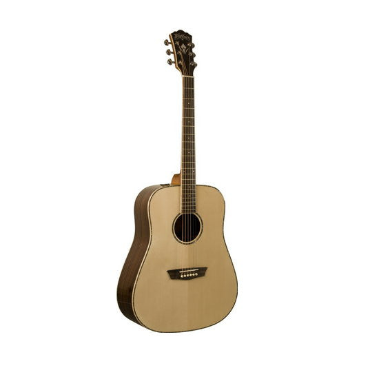 Washburn WD25S Dreadnought Solid Top Acoustic Guitar Natural