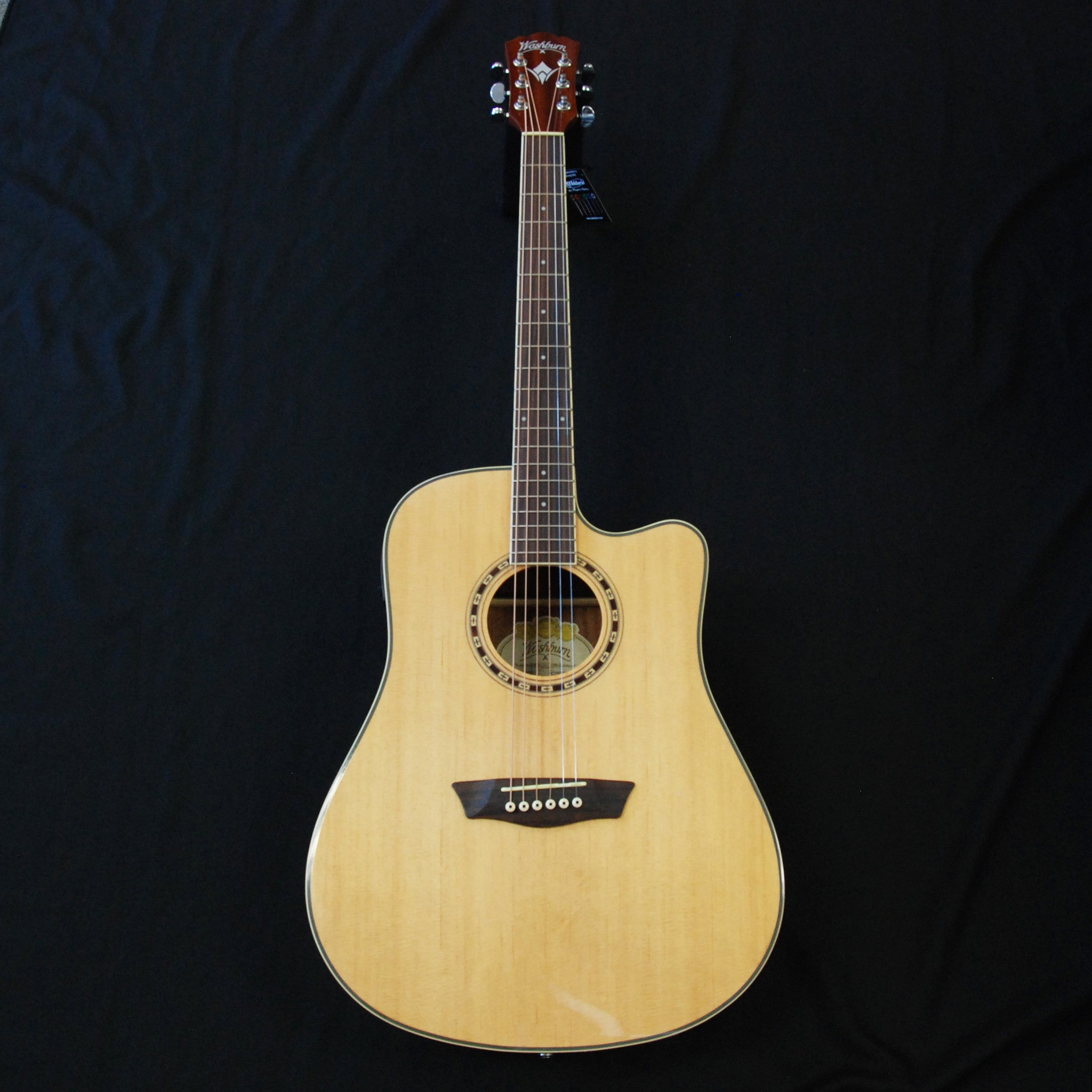 washburn harvest series wd7sce dreadnought cutaway acoustic electric g midlothian music. Black Bedroom Furniture Sets. Home Design Ideas