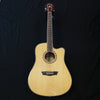 Washburn Harvest Series WD7SCE Dreadnought Cutaway Acoustic/Electric Guitar Natural Gloss