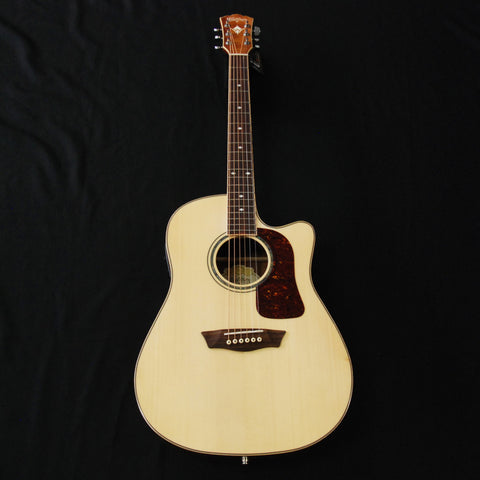 Shop online for Washburn WSJ50SKE Koa With Hardshell Case today. Now available for purchase from Midlothian Music of Orland Park, Illinois, USA