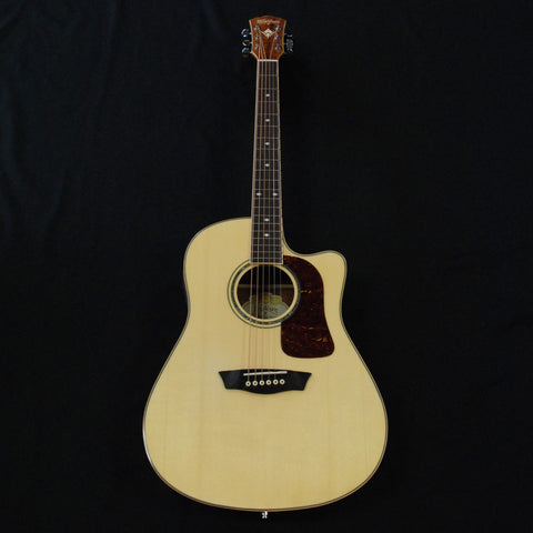 Shop online for Washburn WSJ50SCEKELITE Koa Acoustic/Electric Guitar Limited Edition today. Now available for purchase from Midlothian Music of Orland Park, Illinois, USA