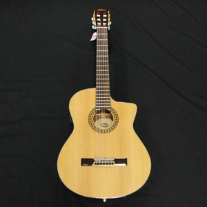 Shop online for Washburn C104SCE 6-String Classical Electric Guitar Natural today.  Now available for purchase from Midlothian Music of Orland Park, Illinois, USA