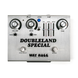 Shop online for Way Huge Doubleland Special Overdrive Pedal Limited Edition today.  Now available for purchase from Midlothian Music of Orland Park, Illinois, USA