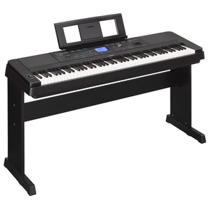 Shop online for Yamaha DGX660B 88 Key Digital Piano On-Display today.  Now available for purchase from Midlothian Music of Orland Park, Illinois, USA