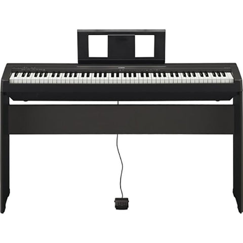 Shop online for Yamaha P-45 88 Weighted Key Digital Piano With Yamaha L-85 Stand today. Now available for purchase from Midlothian Music of Orland Park, Illinois, USA