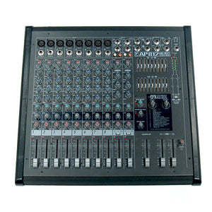 Shop online for Yorkville AP812 Pro Audio 12 Channel Powered Mixer today.  Now available for purchase from Midlothian Music of Orland Park, Illinois, USA