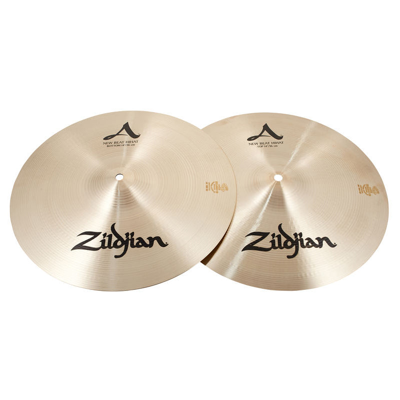 "Shop online for Zildjian A Beat 14"" Hi-hat Cymbals [A0133] today.  Now available for purchase from Midlothian Music of Orland Park, Illinois, USA"