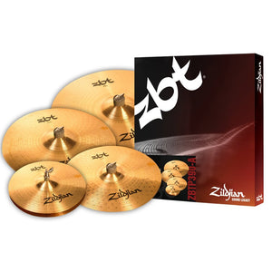 "Shop online for Zildjian ZBTS3P-9 5 Cymbal Pack w/FREE 18"" Crash Cymbal today. Now available for purchase from Midlothian Music of Orland Park, Illinois, USA"