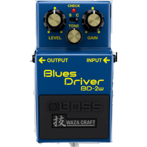 Shop online for Boss BD-2W Blues Driver today.  Now available for purchase from Midlothian Music of Orland Park, Illinois, USA
