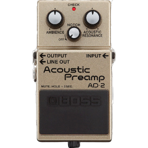 Shop online for Boss AD-2 Acoustic Preamp today.  Now available for purchase from Midlothian Music of Orland Park, Illinois, USA